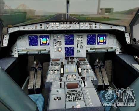 Airbus A330-300 Air Inter for GTA San Andreas wheels