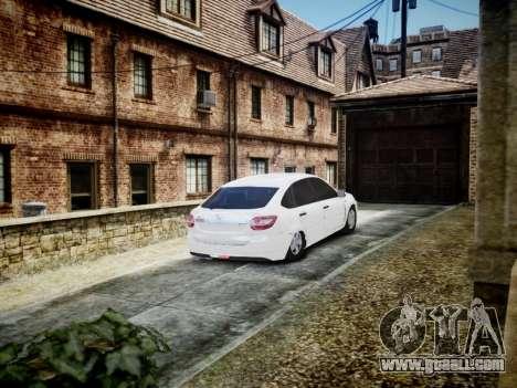 Lada Granta Liftback for GTA 4 right view