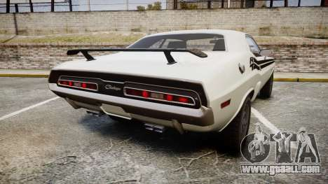 Dodge Challenger 1971 v2.2 PJ1 for GTA 4 back left view