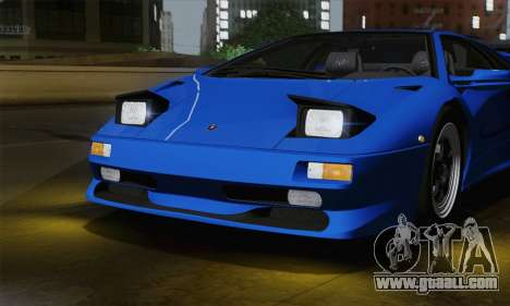 Lamborghini Diablo SV 1995 (ImVehFT) for GTA San Andreas inner view