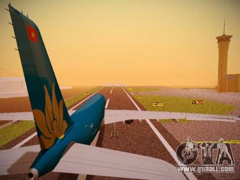Airbus A330-200 Vietnam Airlines for GTA San Andreas