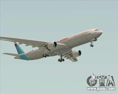 Airbus A330-300 Air Inter for GTA San Andreas bottom view