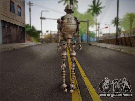 Kraang Robot for GTA San Andreas second screenshot