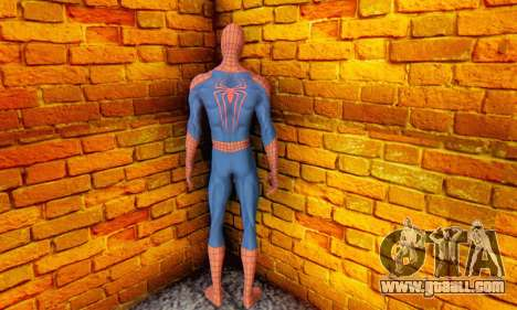 The Amazing Spider Man 2 Oficial Skin for GTA San Andreas fifth screenshot
