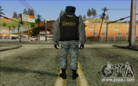 Police In Russia's Skin 5 for GTA San Andreas second screenshot