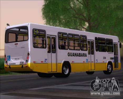 Marcopolo Torino G7 2007 Mercedes-Benz OF-1722M for GTA San Andreas back left view