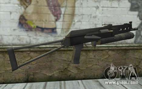 PP-19 Bizon (Battlefield 2) for GTA San Andreas second screenshot