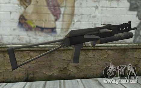 PP-19 Bizon (Battlefield 2) for GTA San Andreas second screenshot