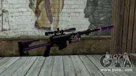 PurpleX Sniper Rifle for GTA San Andreas second screenshot