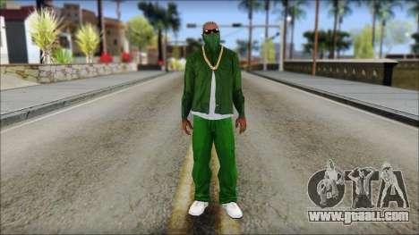 New CJ v3 for GTA San Andreas