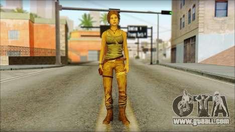 Tomb Raider Skin 12 2013 for GTA San Andreas