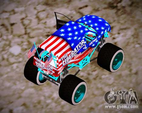 Liberator Online Version (American Flag) for GTA San Andreas left view