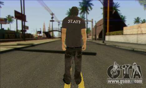Passer-by (STAFF) for GTA San Andreas second screenshot