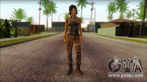 Tomb Raider Skin 8 2013 for GTA San Andreas