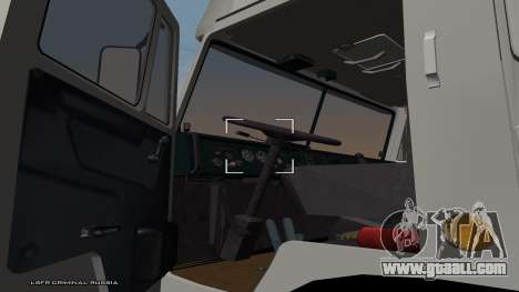 KamAZ 54115 for GTA San Andreas back left view
