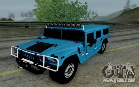 Hummer H1 Alpha 2006 Road version for GTA San Andreas back view