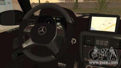 Brabus B65 v1.0 for GTA San Andreas back left view