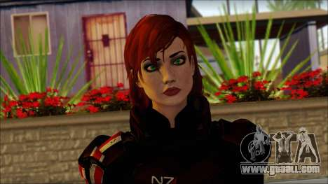 Mass Effect Anna Skin v2 for GTA San Andreas third screenshot