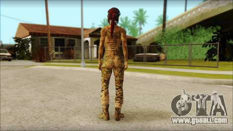 Tomb Raider Skin 10 2013 for GTA San Andreas second screenshot