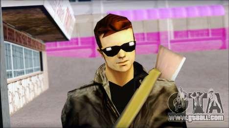 Shades and Gun Claude v1 for GTA San Andreas third screenshot
