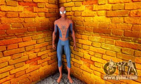 The Amazing Spider Man 2 Oficial Skin for GTA San Andreas forth screenshot