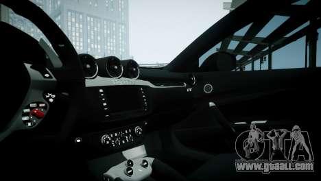 Ferrari FF for GTA 4 back view