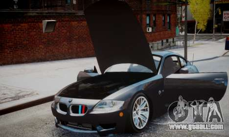 BMW Z4M for GTA 4 back left view