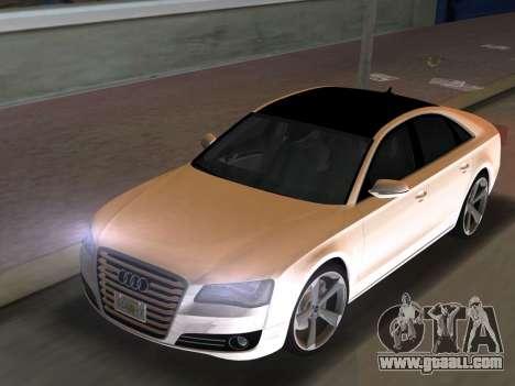 Audi A8 2010 W12 Rim3 for GTA Vice City