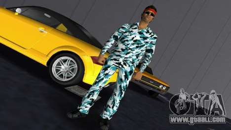 Camo Skin 10 for GTA Vice City