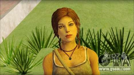 Tomb Raider Skin 12 2013 for GTA San Andreas third screenshot