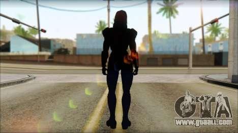 Mass Effect Anna Skin v2 for GTA San Andreas second screenshot