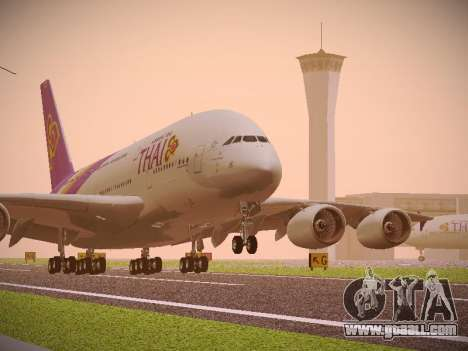 Airbus A380-800 Thai Airways International for GTA San Andreas