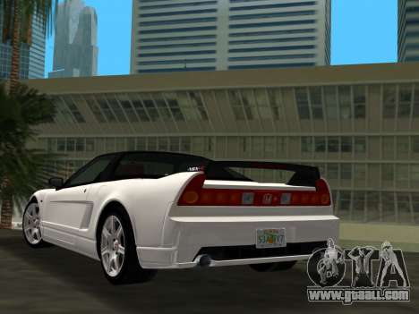 Honda NSX-R for GTA Vice City left view