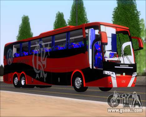 Busscar Elegance 360 C.R.F Flamengo for GTA San Andreas left view