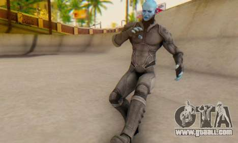 Skin Electro From The Amazing Spider Man 2 for GTA San Andreas