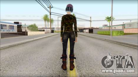 Adult Clementine for GTA San Andreas