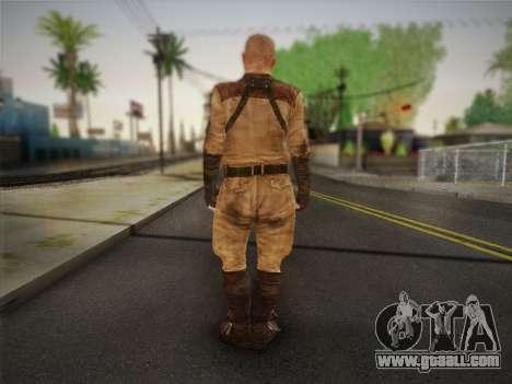 Paul (Metro Last Light) for GTA San Andreas second screenshot
