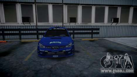 Subaru Impreza STI Group N Rally Edition for GTA 4