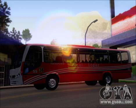 Neobus Spectrum Linea 38 Mcal. Lopez for GTA San Andreas engine