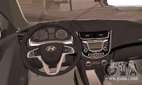 Hyundai Club for GTA San Andreas back left view