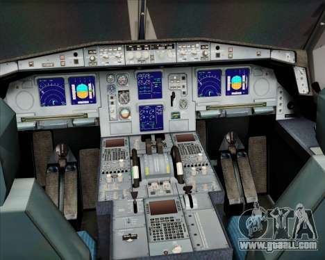 Airbus A330-300 Olympic Airlines for GTA San Andreas interior