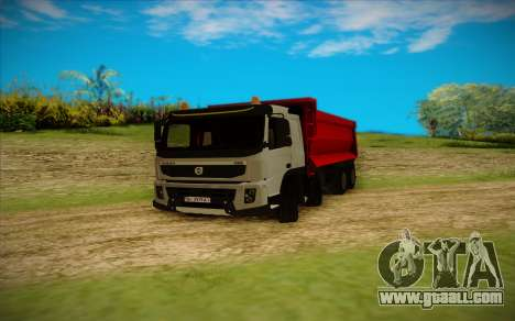 Volvo FMX for GTA San Andreas