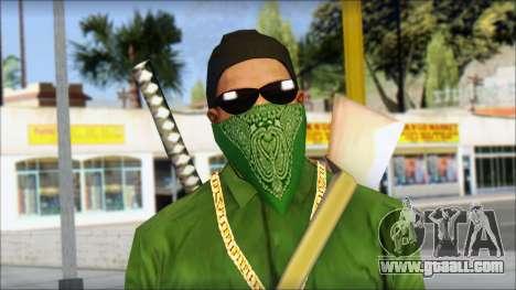 New CJ v6 for GTA San Andreas third screenshot