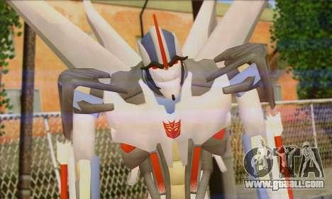 Starscrim from Transformers Prime for GTA San Andreas third screenshot