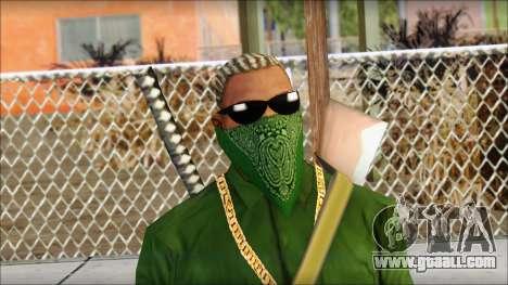 New CJ v5 for GTA San Andreas third screenshot
