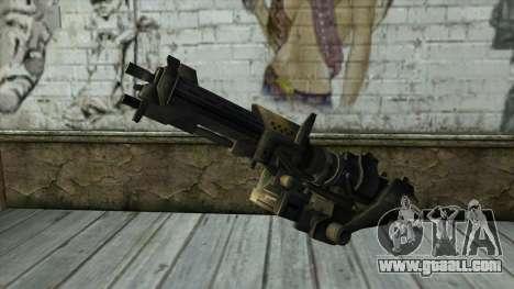 M247 Machine Gun Jorge Of Halo Reach for GTA San Andreas