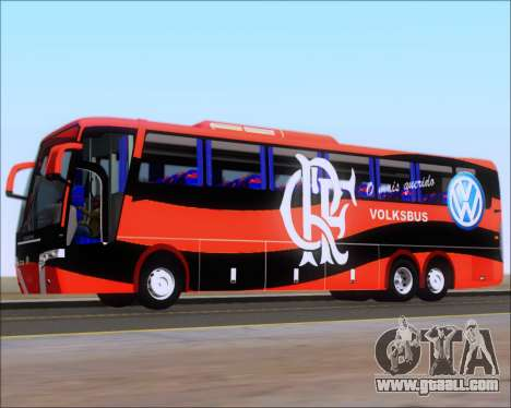 Busscar Elegance 360 C.R.F Flamengo for GTA San Andreas wheels