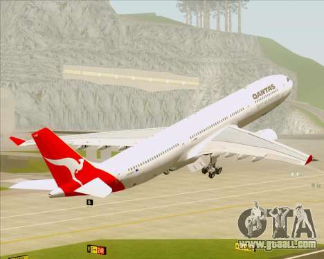 Airbus A330-300 Qantas for GTA San Andreas