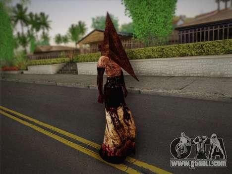 Pyramid Head From Silent Hill: Homecoming for GTA San Andreas third screenshot