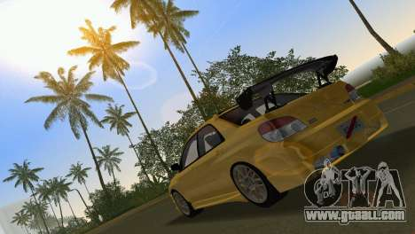 Subaru Impreza WRX STI 2006 Type 4 for GTA Vice City side view